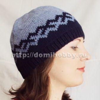 Вязание двусторонней шапочки