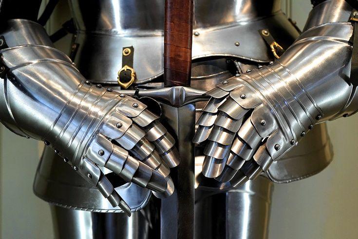 Espada, Armadura, Arma, Medieval, Cavaleiro, Militar