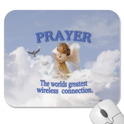 Adorable prayer mousepad.  Love the sentiment.  $12.35