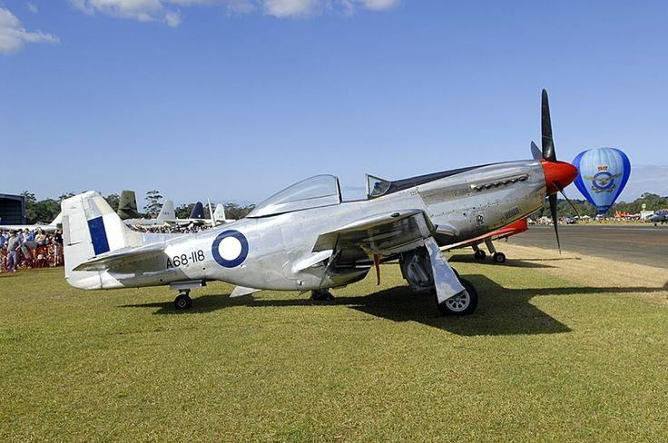 P-51 Mustang WOI Airshow Sunday 4 May 2014 Wollongong, Australia