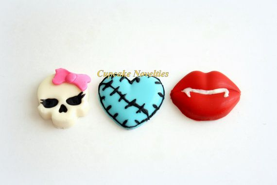 Monster High Cookies Monster High Birthday by CupcakeNovelties