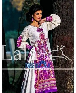 Sana Samia Embroidered Pakistani Dresses Online