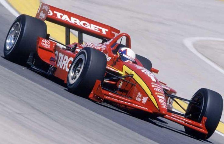 Crossing the CART/IRL picket line, Juan Pablo Montoya scores the big win in 2000.