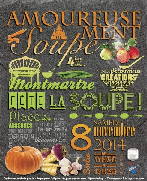 amoureusement soupe Montmartre