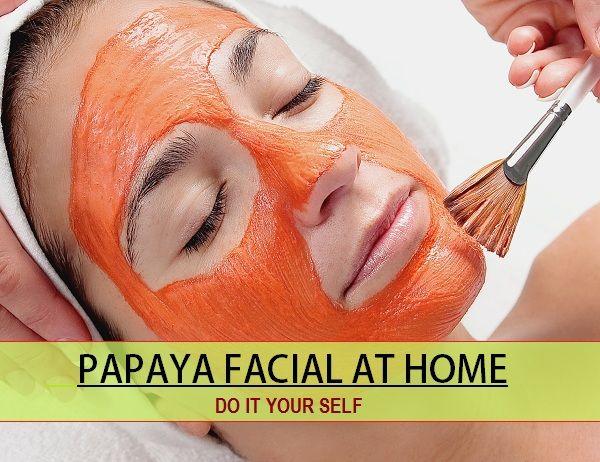 papaya facial at home