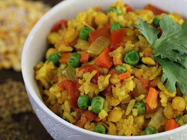 インド料理 キチュリ(ベジタリアン)