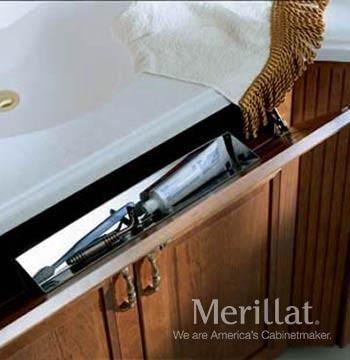 Merillat Masterpiece® Base Stainless Utensil Tray - Merillat