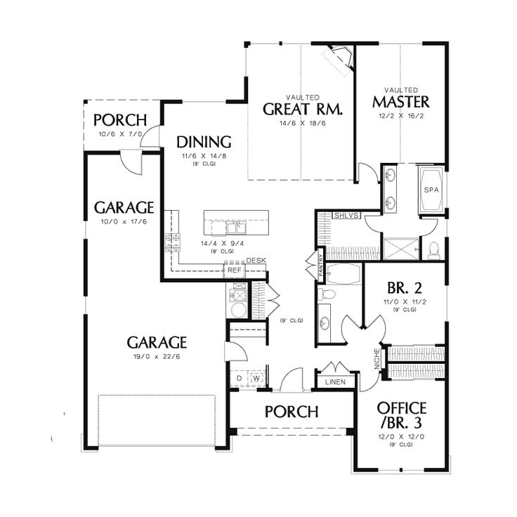 Small House Floor Plans Ranch: Best 25+ House Plans And More Ideas On Pinterest
