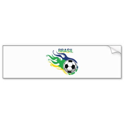 "Sold this ""Cool Brasil Futebol Bumper Sticker"", to Canada! Thanks :) #brasil #brazil #copa #soccer #futebol"