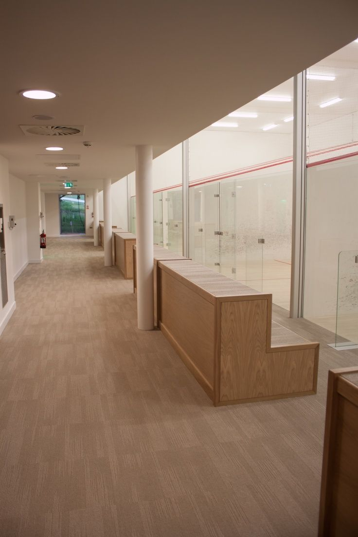 Image result for squash club spectator seating