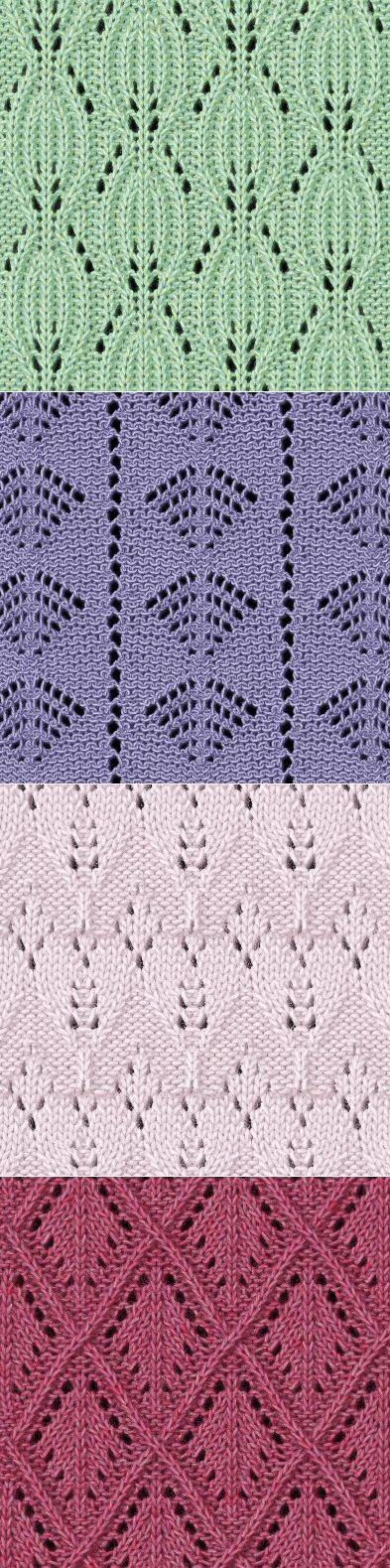 Grapevine Lace Knitting Pattern : Liczba pomysLow na temat: Wzory Na Druty na Pinterescie ...