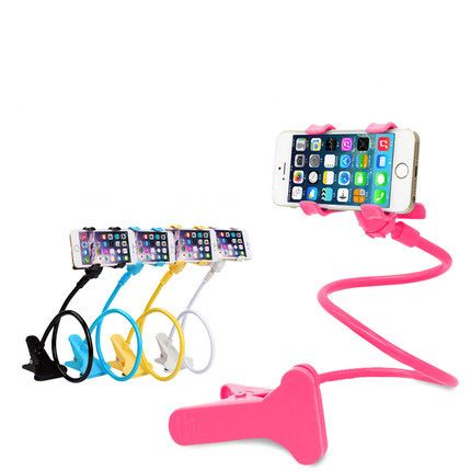 Car Phone holder Universal Long Arm Lazy Mobile Phone Gooseneck Stand Holder Flexible Bed Desk Table Clip Bracket For iphone