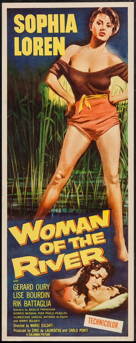 Woman of the River (Columbia, 1957). Insert