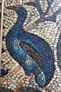 Peacock mosiac, Aquilea, Italy.