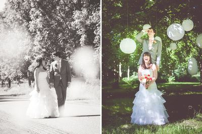Wedding white lamps - You are Beloved - Photography