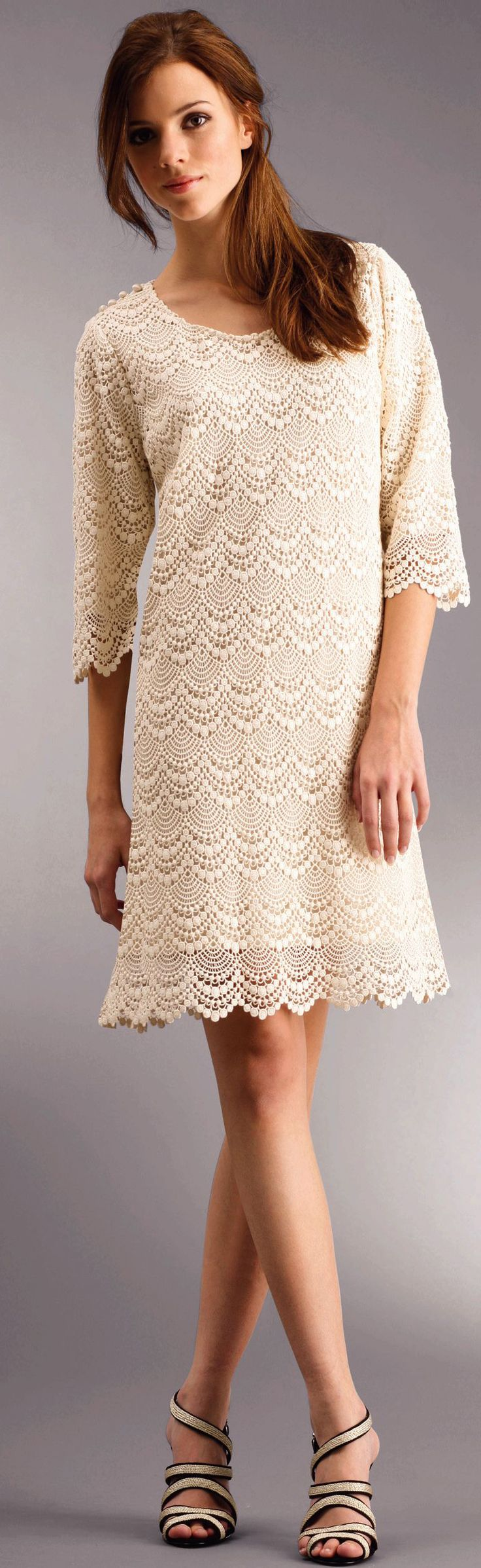 """Crochet dress with diagram - This is for advanced level, very detailed. }}{{ I'm going to hide this from my daughter, because she will added to her """"I list""""."""
