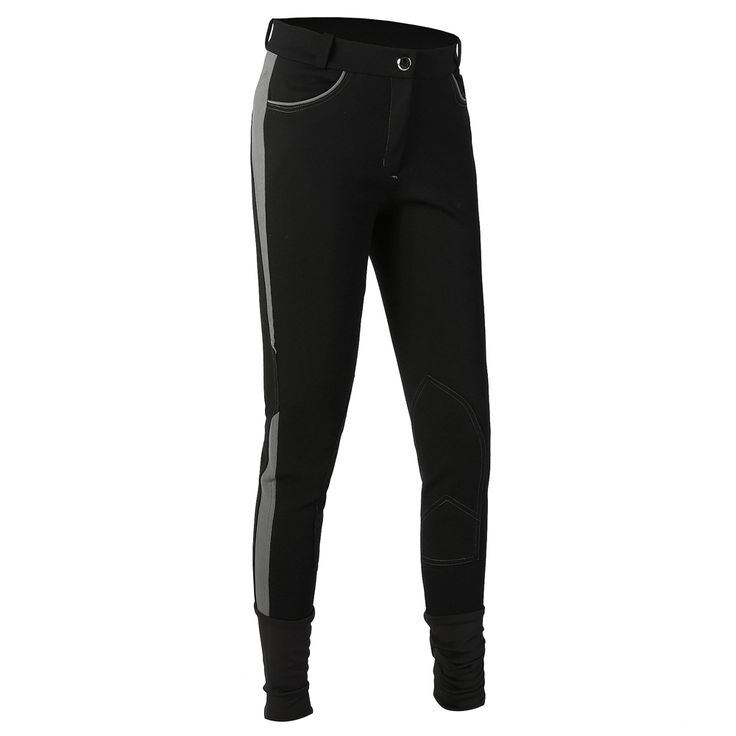 Women Equestrian Pant Stretch Equitation Trousers Ladies Free Movement Soft Breeches Knee Patch Horse Riding Jodpurs Pants