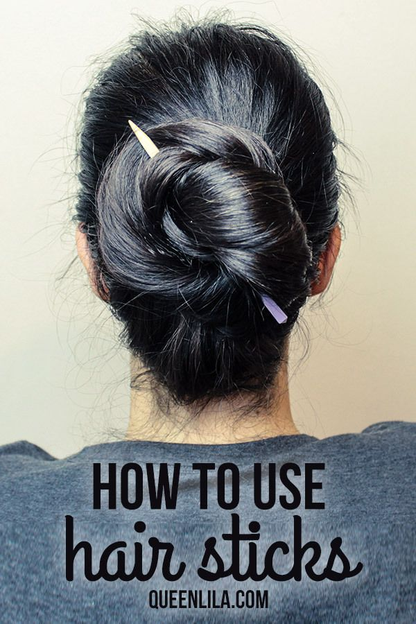 How to use hair sticks! | Queen Lila