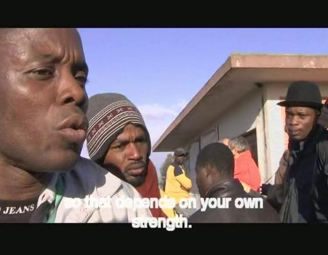 """""""Gone With the Orange"""" a documentary by Nicola Angrisano ///   Tales of the africans orange pickers in Rosarno (Calabria) and their rebellion against violence and apartheid, local Mafia and official deportation.   - January 9th, 2010."""