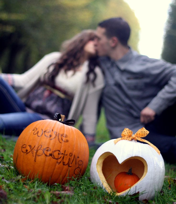 Our fall pregnancy announcements