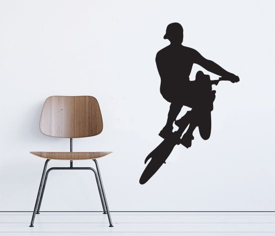 VÄGGDEKOR Bike