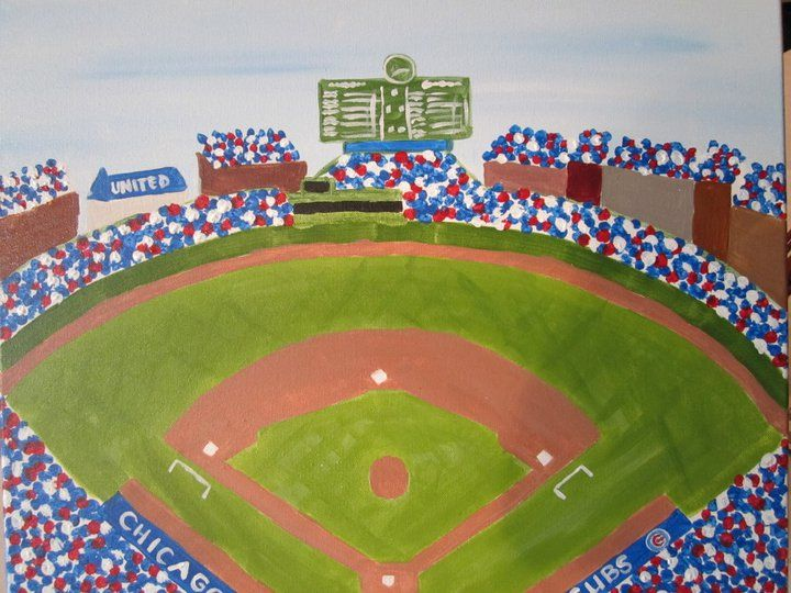 If you don't have plans for next Friday, April 6th yet, come Laugh, drink (byob), and paint with us at 7pm.     We will be kicking off baseball season next weekend by painting this fun Wrigley Field painting.      Arts n Spirits is located in Bucktown and class is just $40! Best part is you get to take your painting home with you!    www.artsnspirits.com for more information or to sign up!!!