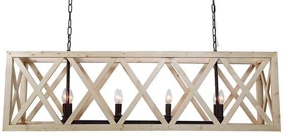 Wheeler Chandelier - Rectangular Chandelier - Dining Room Chandelier - Dining Table Chandelier - Entryway Chandelier -…