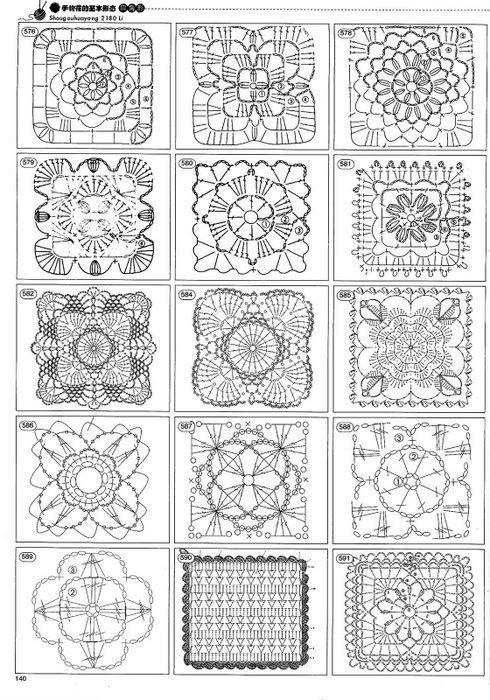 2180 crochet motif magazines | make handmade, crochet, craft by Elnahna