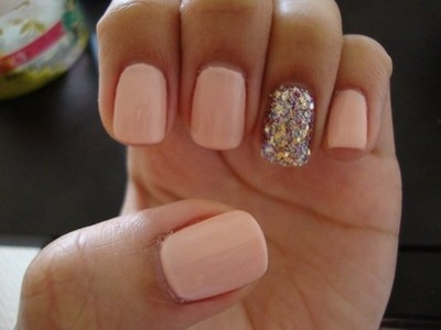 best 25 one glitter nails ideas on pinterest winter