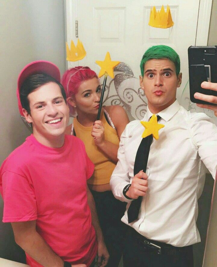 Cosmo, Wanda, and Timmy!