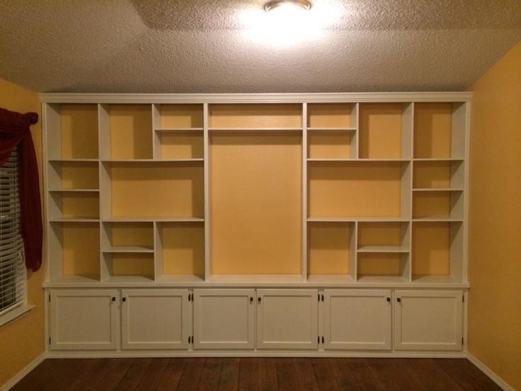 """""""This is my first big build using nothing but a Kreg Jig® for every joint: door frames, shelves, and trim."""" -Jeremiah D."""