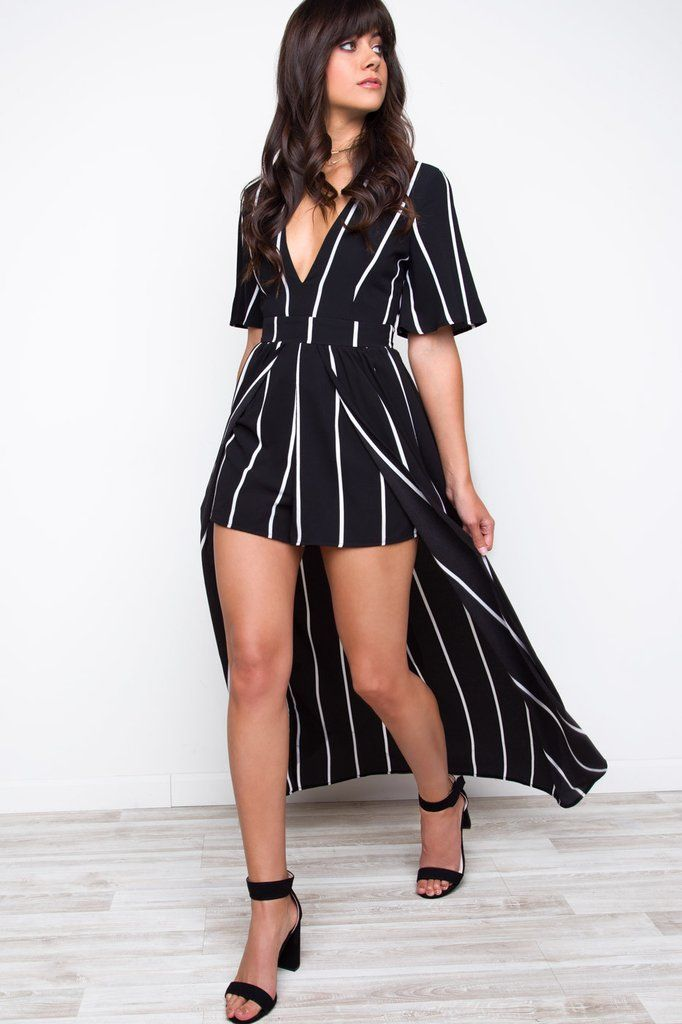 - Details - Size Guide - Model Stats - Contact You'll make it a magical day when you arrive wearing the A-List Maxi Romper in Black! This romper features a lightweight woven poly spandex fabric black