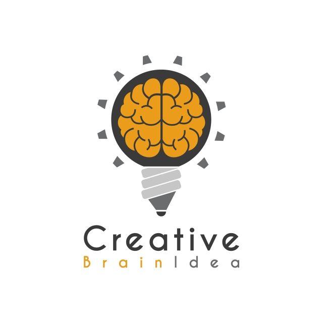 ناقل الفكرة الإبداعية الدماغ رصاص القلم مصباح تصميم شعار قوالب Logo Design Free Templates Logo Design Creative Logo Design Free