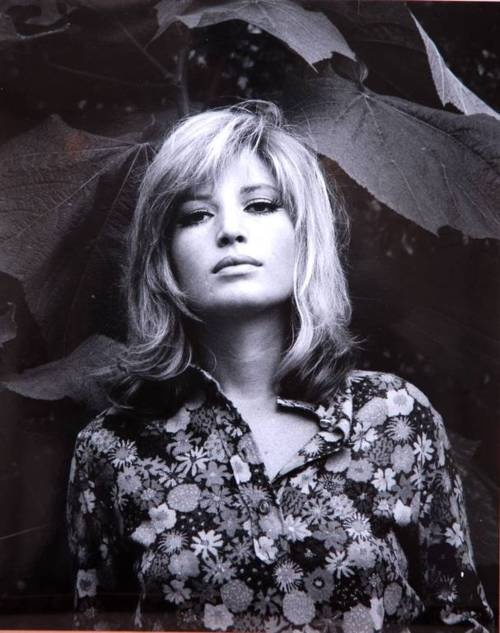 Italian actress Monica Vitti