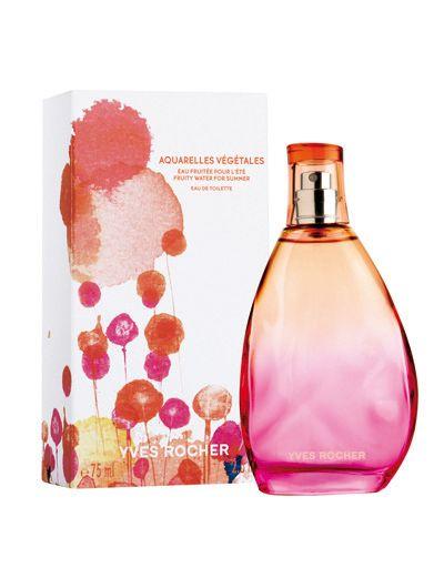 Parfum Yves Rocher : Aquarelles Végétales