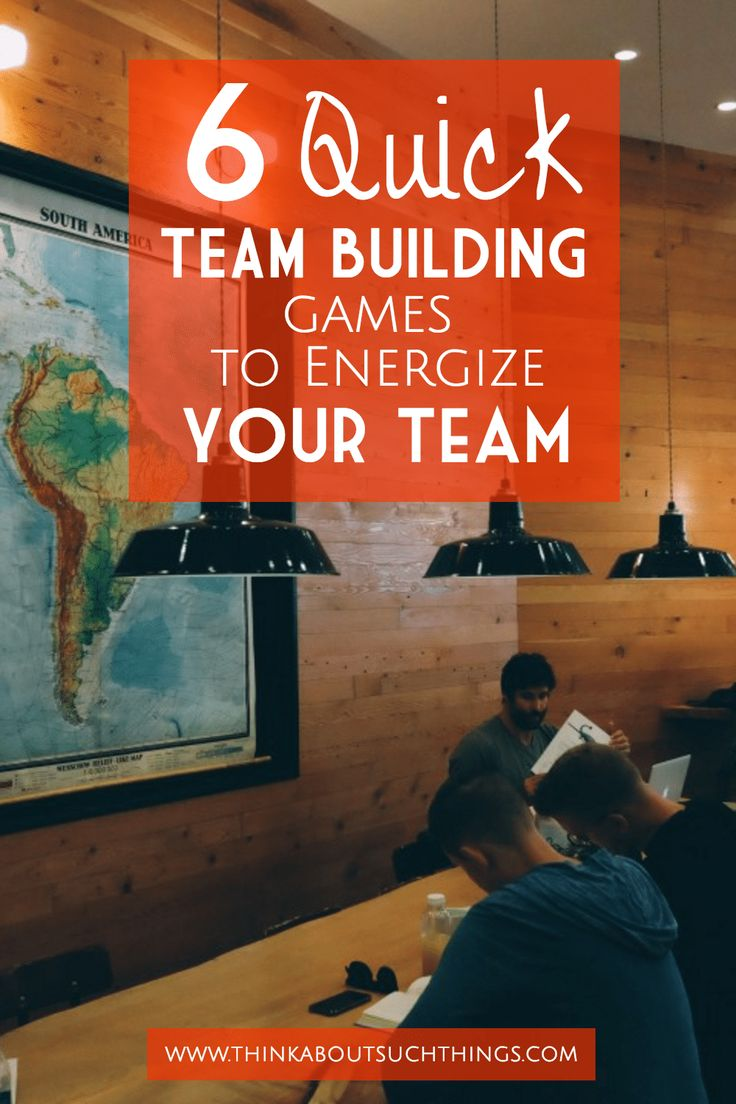 6 Quick Team Building Games to Energize your Team