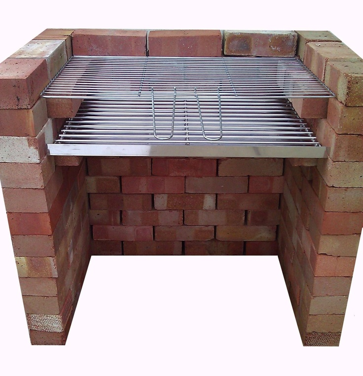 Brick Bbq Diy Brick Bbq Grill Ideas Pinterest