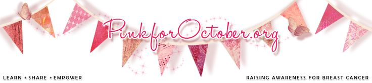 Pink for October::
