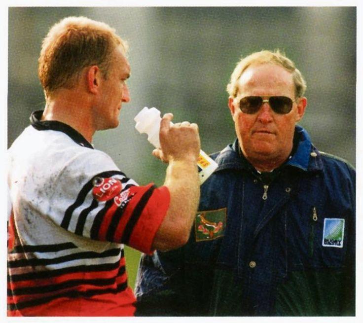 1995 : François Pienaar et Kitch Christie