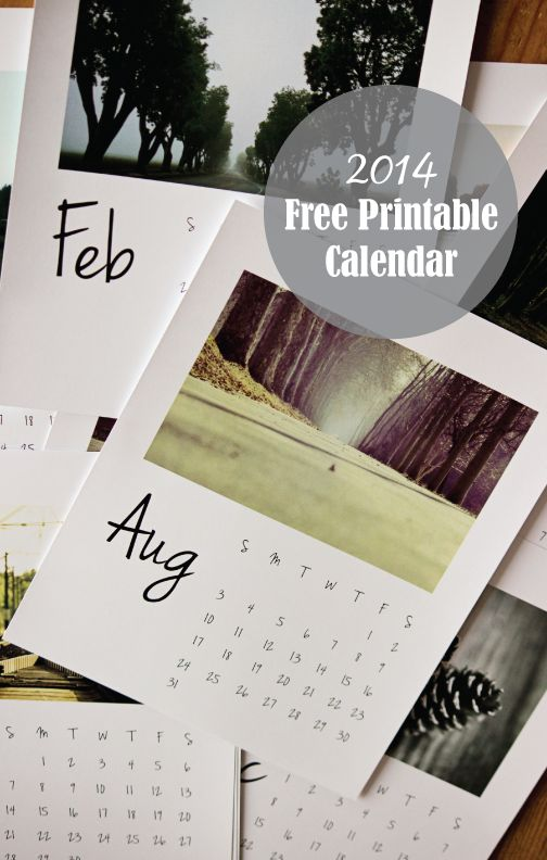 2014 FREE printable Calendar | My Life, My Love - Kelsie Millet. (Be sure and print the corrected version at the bottom of the post!)