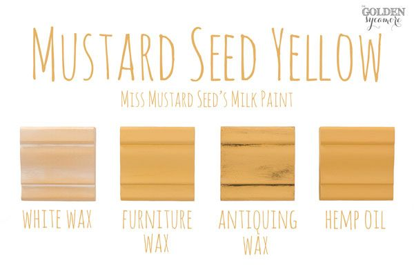 Miss Mustard Seed's Milk Paint Colors & Finishes - The Golden Sycamore