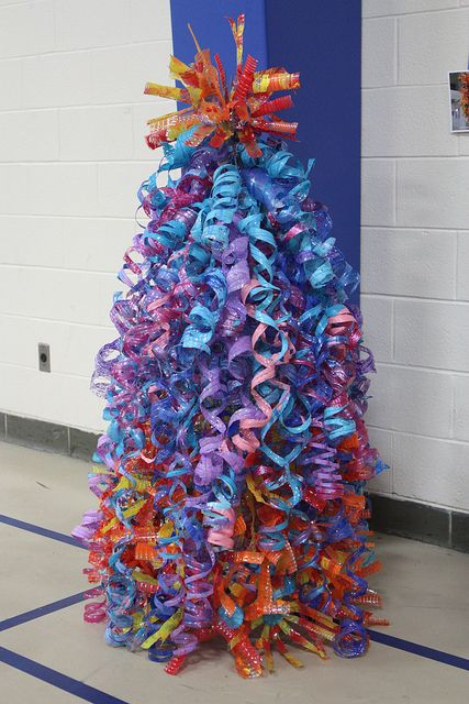 """I did this but as a Christmas tree for the concert decoration.....and then it got """"lost"""" before I could get it picked up. :( poop."""
