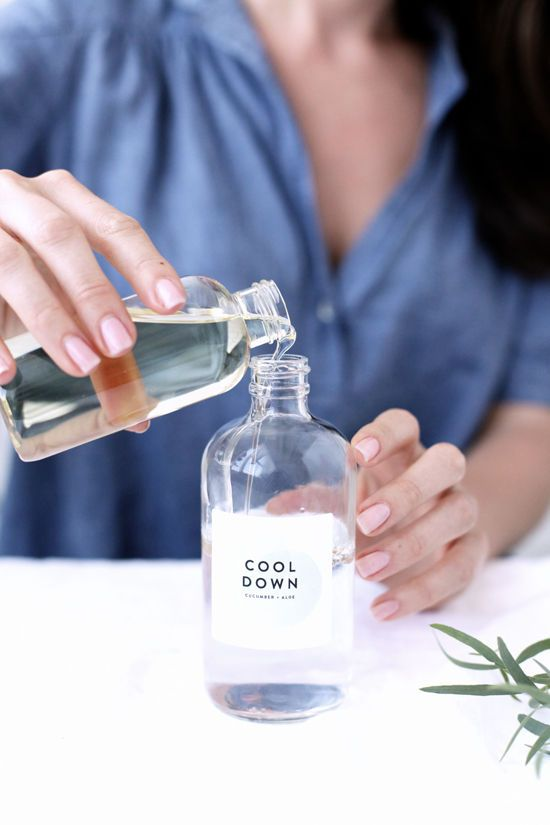 DIY Relaxing Face Mists