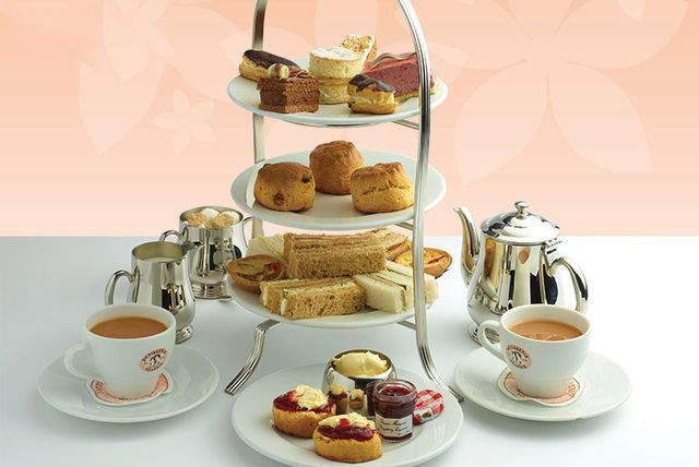£19 instead of £25 for afternoon tea for two people at Patisserie Valerie - choose from over 120 UK locations and save 24%