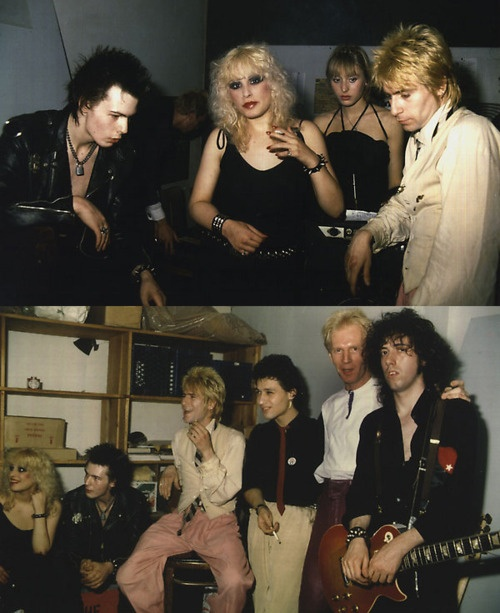 Sid Vicious performs a gig under the banner 'Music Industry Casualties' at Max's  Kansas City  with bassist Killer Kane & drummer Jerry Nolan from the New York Dolls, and  guitarist Steve Dior, the Clash's Mick  Jones guests on guitar, December 1978.