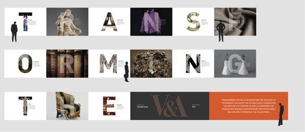 Transforming the V&A by Dharu Dwihutami, via Behance