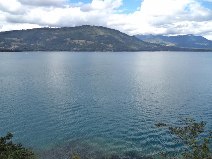 Vista desde la peninsula