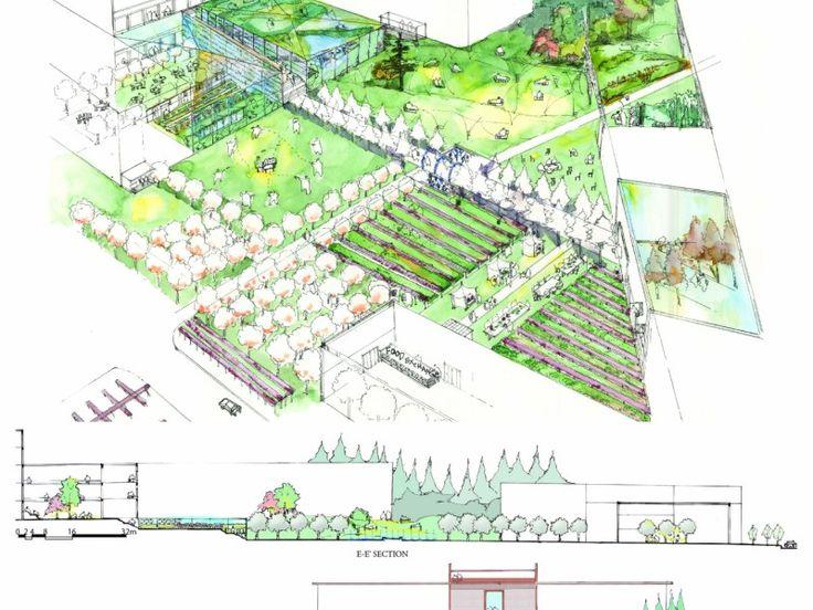 24 best Parque Bercy,Paris images on Pinterest Paris, Architecture - plan cuisine restaurant normes