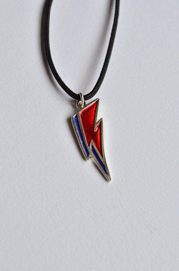 Collana David Bowieciondolo unisex argento 925 di VMJewelryDesign