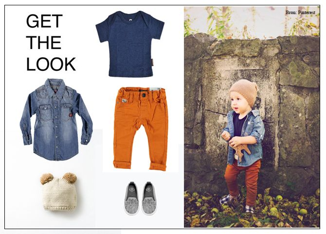 In deze 'get the look' zie je een geweldige look volgens de laatste kindermode trends voor kleine jongens. Je shopt de leuke kinderkleding direct via de link
